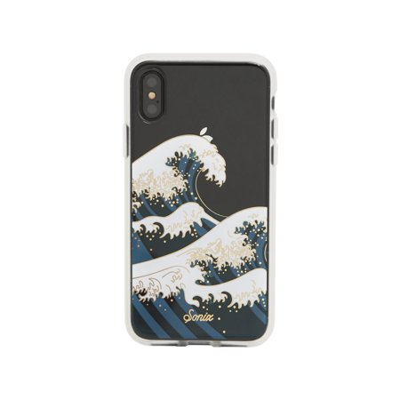 "Mobile Coat (iPhone X, Sonix TOKYO WAVE Cell Phone Case - Military Drop Test Certified - Sonix Clear Coat Series for Apple (5.8"") iPhone)"