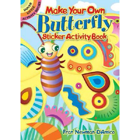 Make Your Own Butterfly Sticker Activity (Oakley Make Your Own)
