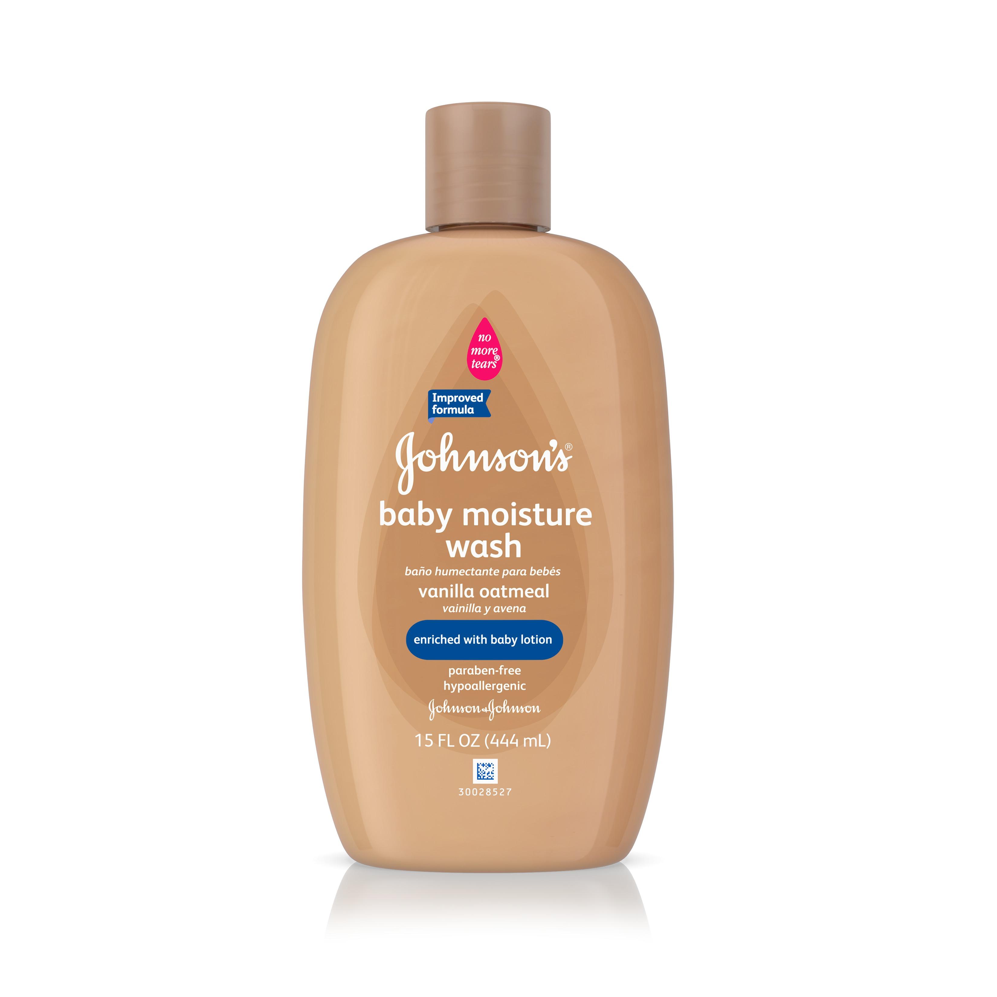 Johnson's Baby Vanilla Oatmeal Hair And Body Wash, 15 Fl. Oz.