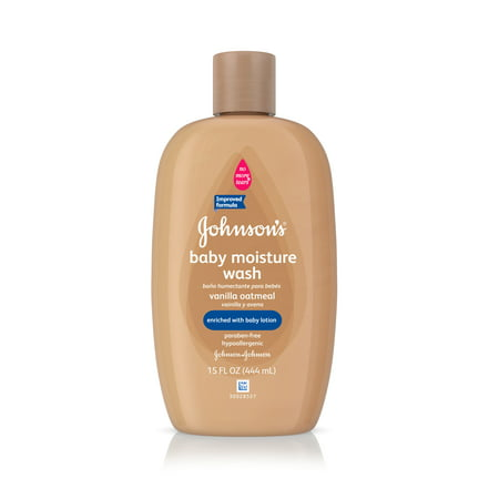 Johnson's Baby Vanilla Oatmeal Hair And Body Wash, 15 Fl. Oz.