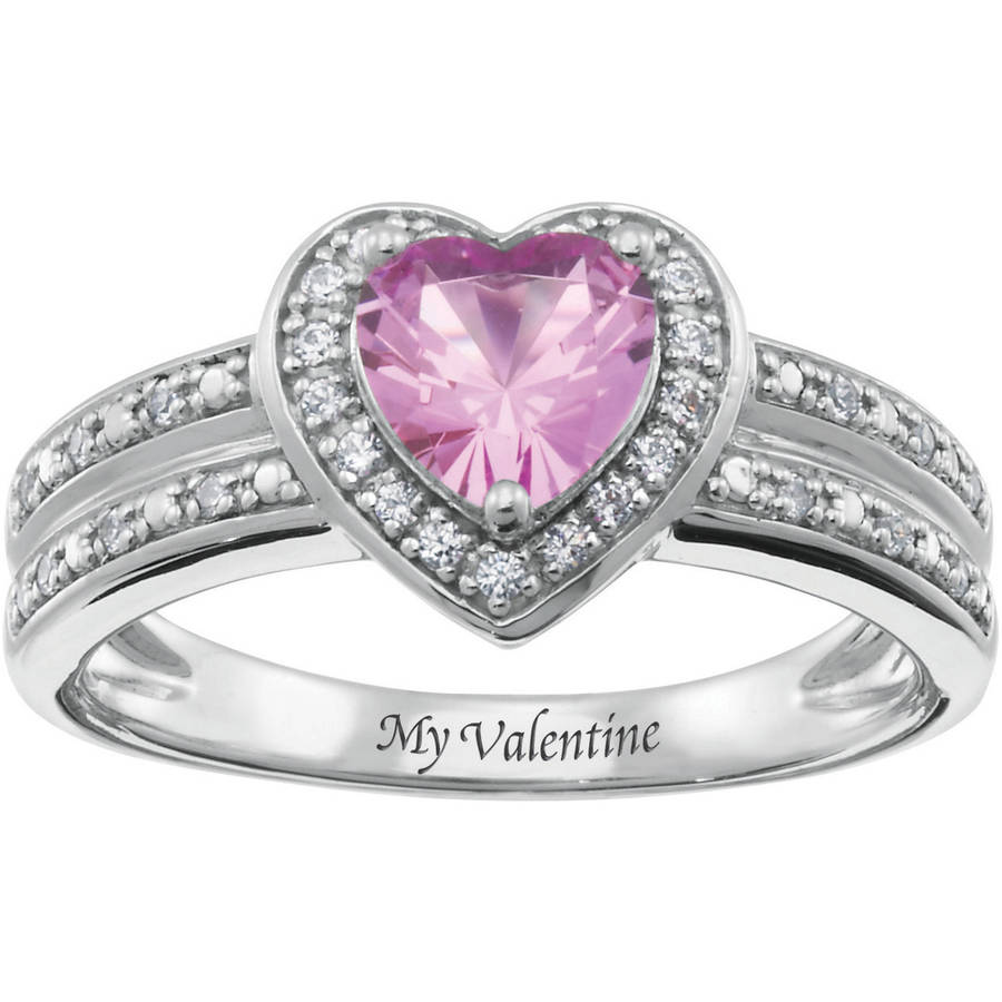 Personalized Keepsake My Valentine Ring
