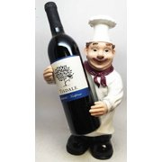 "La Dolce Vino 13.5"" Standing Chef Wine Holder"