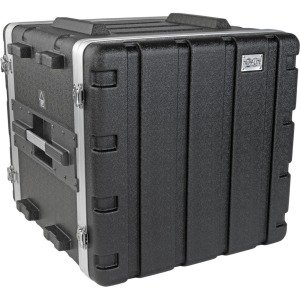 Tripp Lite 10U ABS Server Rack Equipment Flight Case for Shipping & Transportation