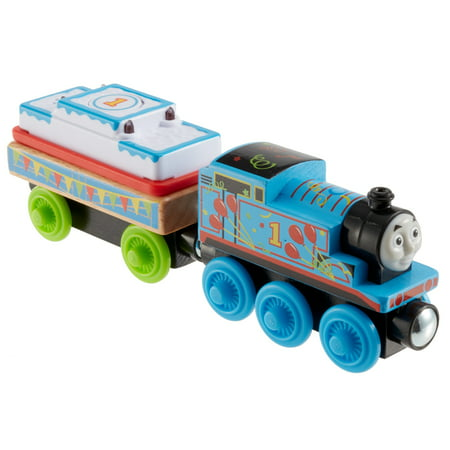 Thomas & Friends Wood Birthday Thomas Wooden Tank Engine Train