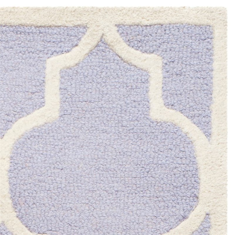 "Safavieh Cambridge 2'6"" X 12' Hand Tufted Wool Rug - image 1 of 10"
