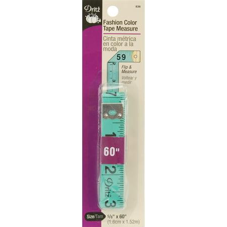 """Dritz Fashion Color Tape Measure 5/8""""X60""""-"""