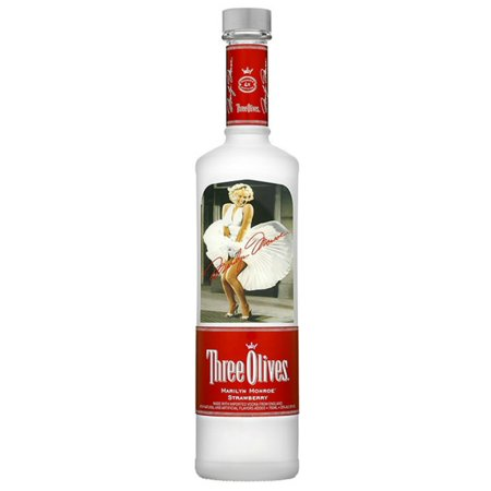 Three Olives Marilyn Monroe Vodka, 750 mL