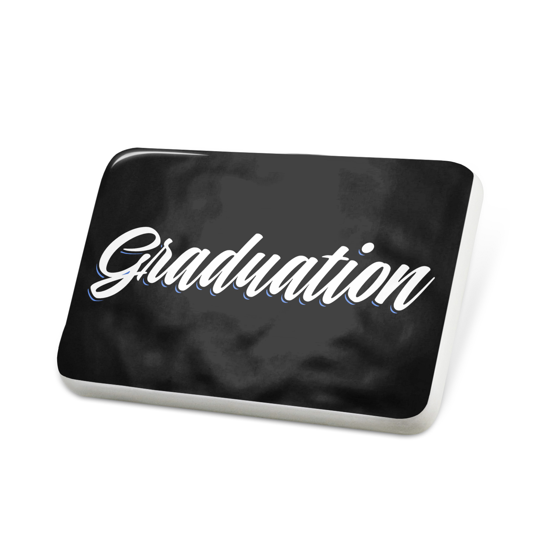 Porcelein Pin Classic design Graduation Lapel Badge – NEONBLOND