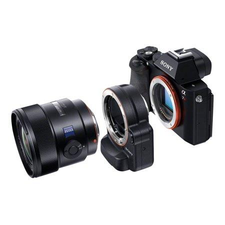 Sony LA-EA4 - Lens adapter Minolta A-type - Sony E-mount - for Sony ILCE-QX1L; NXCAM NEX-EA50, FS100, FS700; XDCAM PXW-FS5, FS5K, FS7, FS7K; a7 II (Sony Fs100)