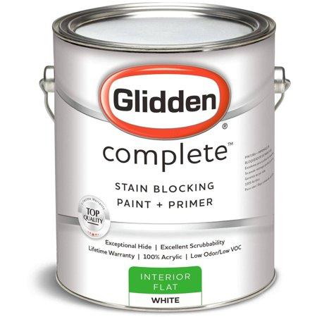 Glidden Gb Complete Int Ltx Flat White 2000gc01