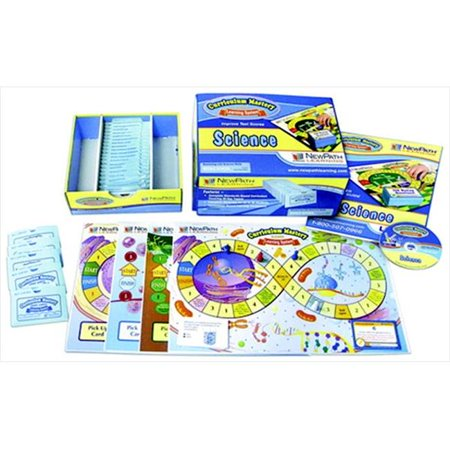 NewPath 092094 Class Pack Edition Science Studies Curriculum Mastery Game Set, 36 Players, Grade 8