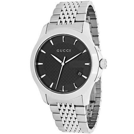 eb8f0bd4eab Gucci - Men s Timeless Watch Quartz Sapphire Crystal YA126402 - Walmart.com