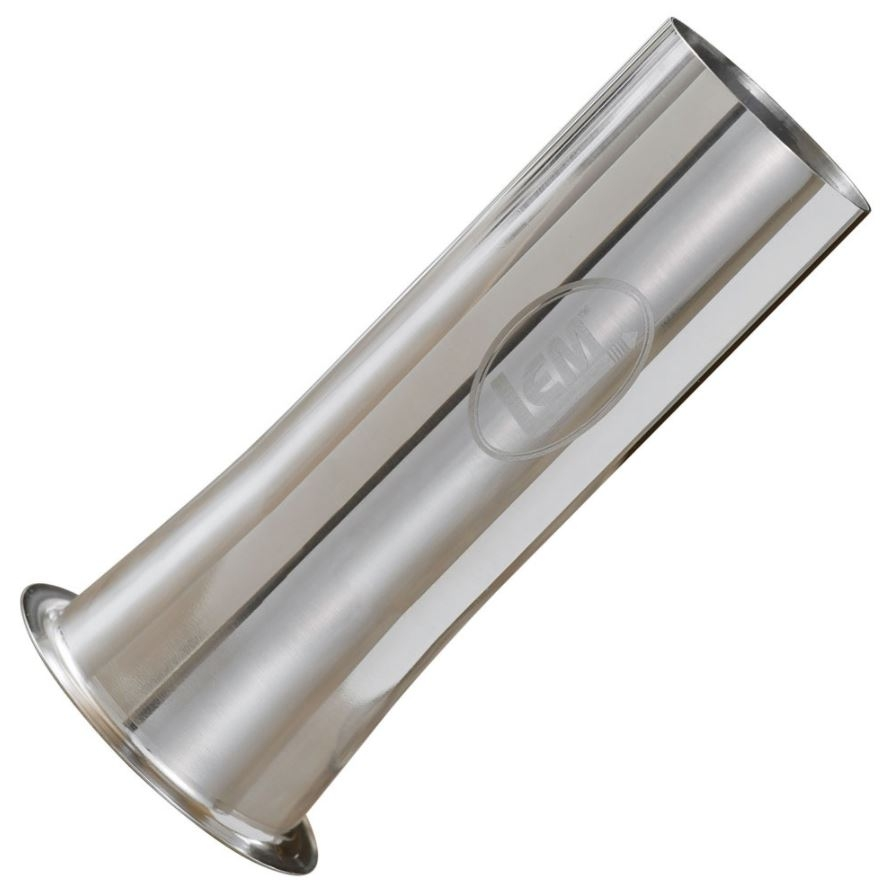 "LEM 2"" Stainless Steel Stuffing Tube - #10/12"