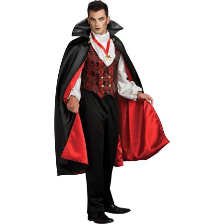 Transylvanian Vampire Costume for Men](Geisha Hair And Makeup For Halloween)