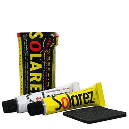 SOLAREZ UV Cure Surfboard Ding Repair Mini Travel Kit