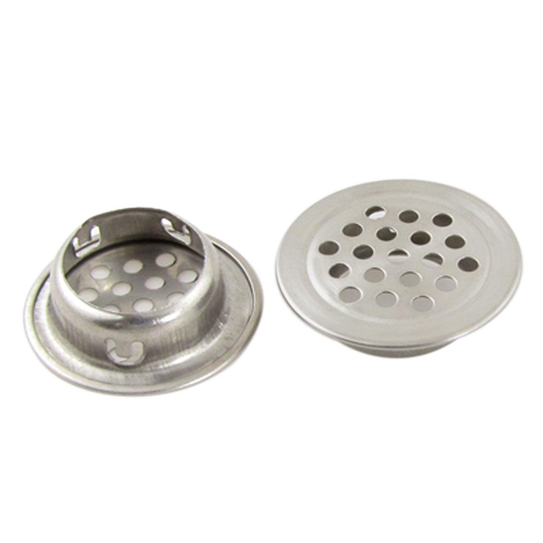 2 Pcs Kitchen Bathroom Hole Design 1 3 Sink Drain Strainers Walmart Com