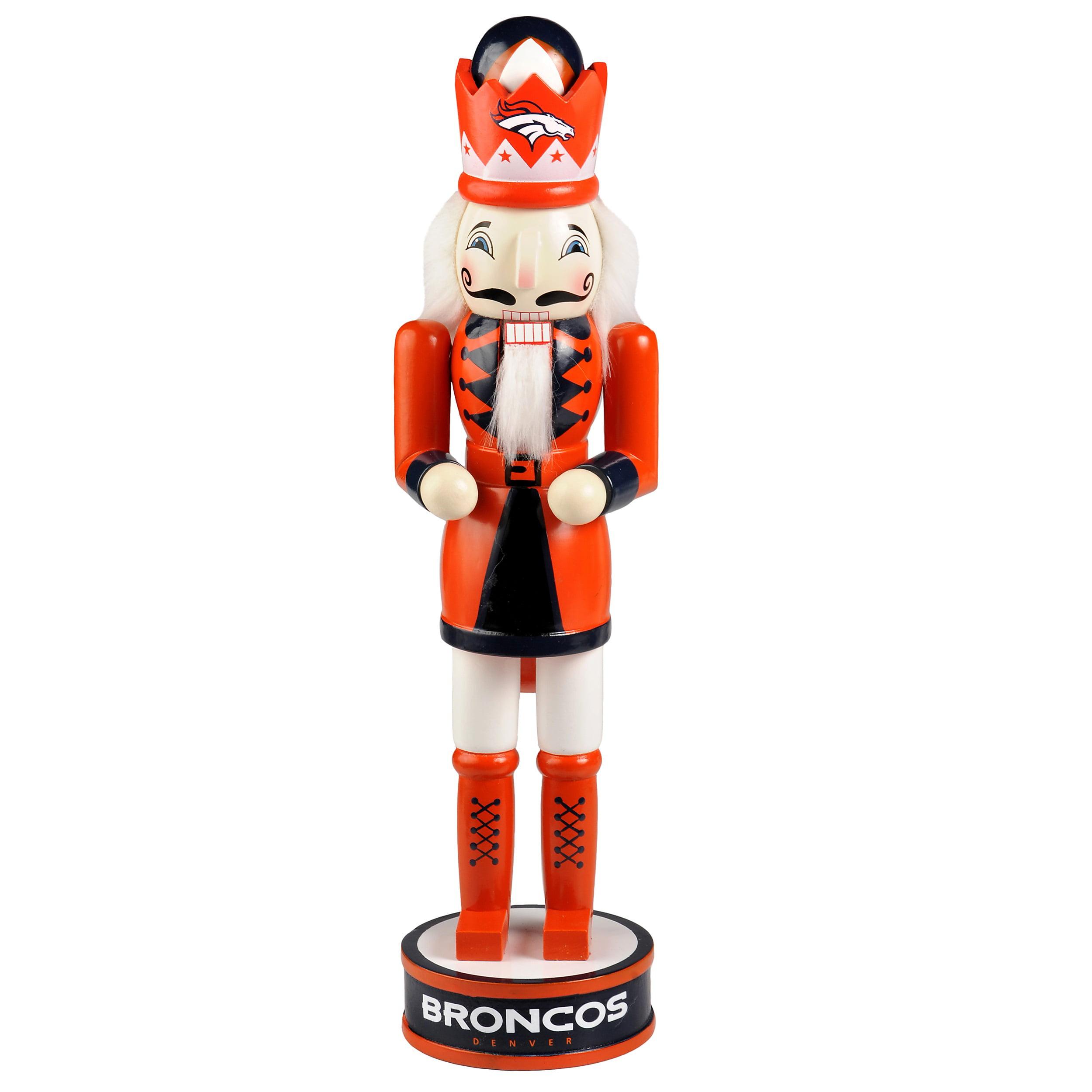 Denver Broncos Holiday Nutcracker