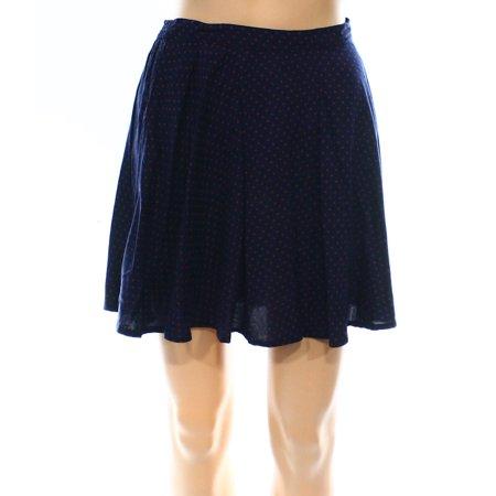 Denim & Supply Ralph Lauren NEW Blue Womens Size Medium M A-Line Skirt - Medium A-line Skirt