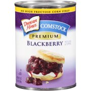 (2 Pack) Duncan Hines Comstock Premium Blackberry Pie Filling & Topping, 21 oz