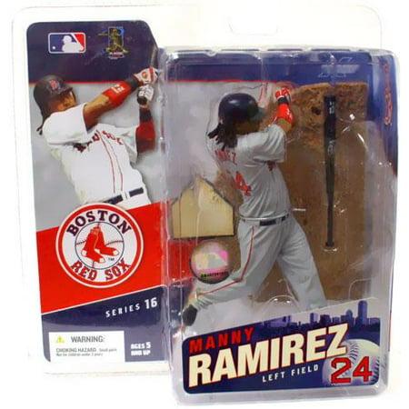 Manny Ramirez Action Figure Gray Jersey Variant Sports Picks Series -