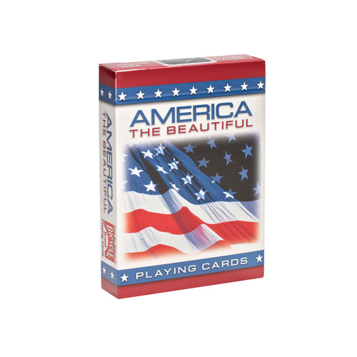 Bicycle American Flag Standard Index Playing Cards - 1 Sealed Deck #1023734