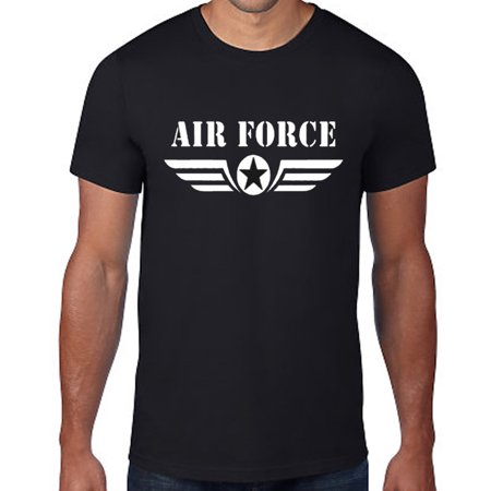 Mens Tshirt Army Navy Air Force Military Physical Training Short Sleeve Tee S-3X