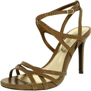 Lauren Ralph Lauren Women's Talulla-Sn-Drs Leather Antique Gold Ankle-High Leather Pump - 8.5M