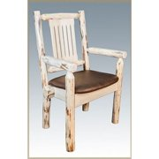 Montana Woodworks 30 in. Montana Captains Chair