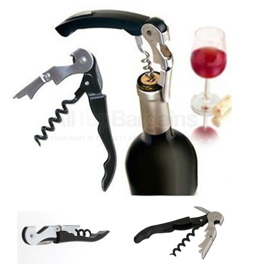 Waiters Metal Cork Screw Corkscrew Multi-Function Wine Bottle Cap Opener Knife ! by Chef Craft