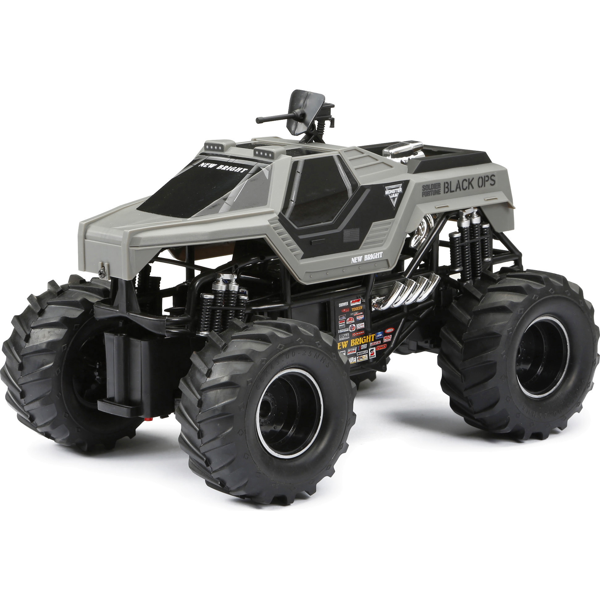 New Bright 1:15 Scale Radio Control Monster Jam - Soldier Fortune
