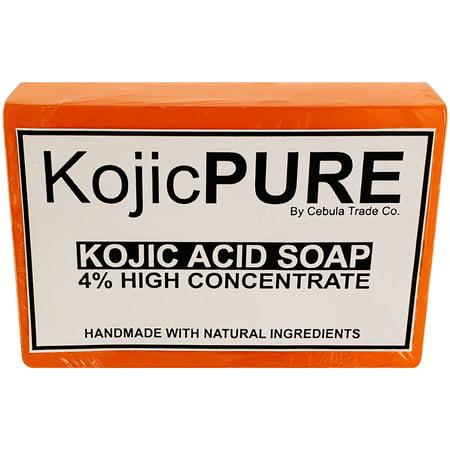 High Concentrate Kojic Acid Dipalmitate Skin Whitening / Lightening Soap Bar -