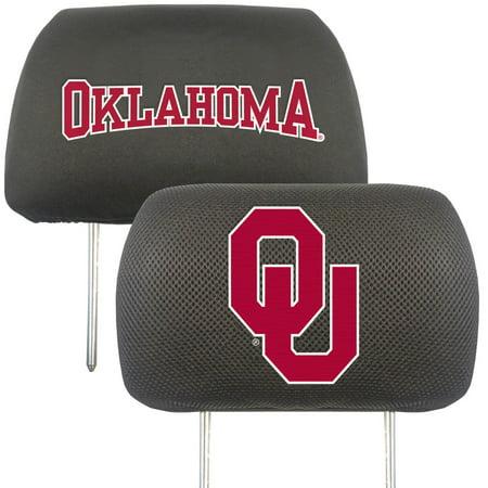 University of Oklahoma Headrest Covers