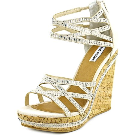 2ba604069280 Not Rated - Not Rated Coral Sea Women Open Toe Canvas Wedge Sandal -  Walmart.com