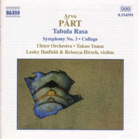 Arvo P  Rts Justly Popular Tabula Rasa Boasts The Style By Which We Have Come To Know This Appealingly Distinctive Estonian Composer  He Arrived At This Later Style  However  Only In The Late 1970S  And His Path Leading To That Point Is Strewn With Fascinating Compositions  Two Of Which Are Included Here Marking His Departure From Strict Serialism  The 1964 Collage   Ber Bach Takes Its Inspiration From Baroque Forms While Nodding To Tonality  The Entire Piece Has A Somber Cast  From The Opening  Toccata  Movements Angular Edginess  Reminiscent Of Bernard Hermanns Music For Psycho  To The Lovely  Sarabande  That Turns Darkly Discordant  Which Features A Very Fine Unnamed Oboe Soloist  To The Agitated Grimness Of The Closing  Ricercare   If Collage Reminds One Of A Hitchcock Film  Then P  Rts Symphony No  3  1971   In Its Neo Romantic Spin On Both  And Often Alternately  Medieval And Renaissance Polyphony  Sounds Like A Soundtrack For A Film On An Arthurian Legend  The Most Effective Piece Is  Indeed  Tabula Rasa In Which P  Rt Brilliantly And Idiosyncratically Pays Homage To Vivaldi By Locating The Seeds Of His Own Minimalist Aesthetic In Baroque Figurations And Suspension Resolutions