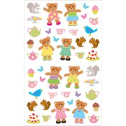 Mrs. Grossman's Stickers-Teddy Bears Picnic
