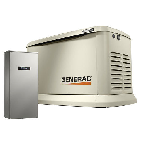 Generac 7043 22/19.5kW Air-Cooled 200SE Standby Generator...