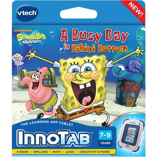 VTech InnoTab Software, SpongeBob SquarePants