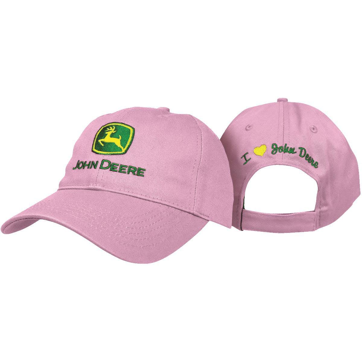 j america inc 23080004pk john deere ladies baseball cap jd ladies pink ballcap walmart com walmart com walmart