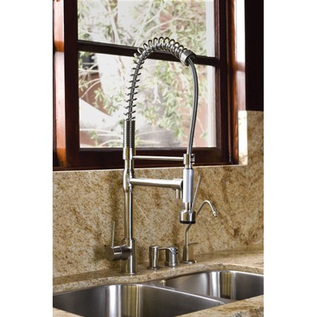 American Standard Satin Nickel Pull Down Faucet Pull Down