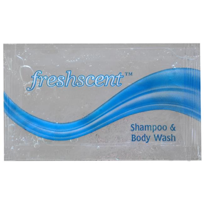 Freshscent- 0.34 oz Shampoo & Body Wash Packet - Case of 100 - FSP