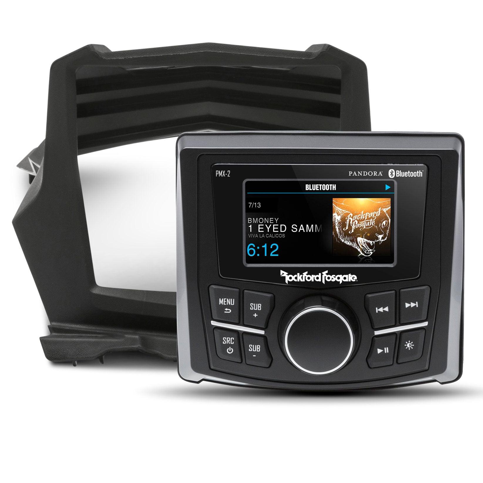 Rockford Fosgate Stereo Kit for Select Maverick X3 Models, PMX-2 & Dash Kit