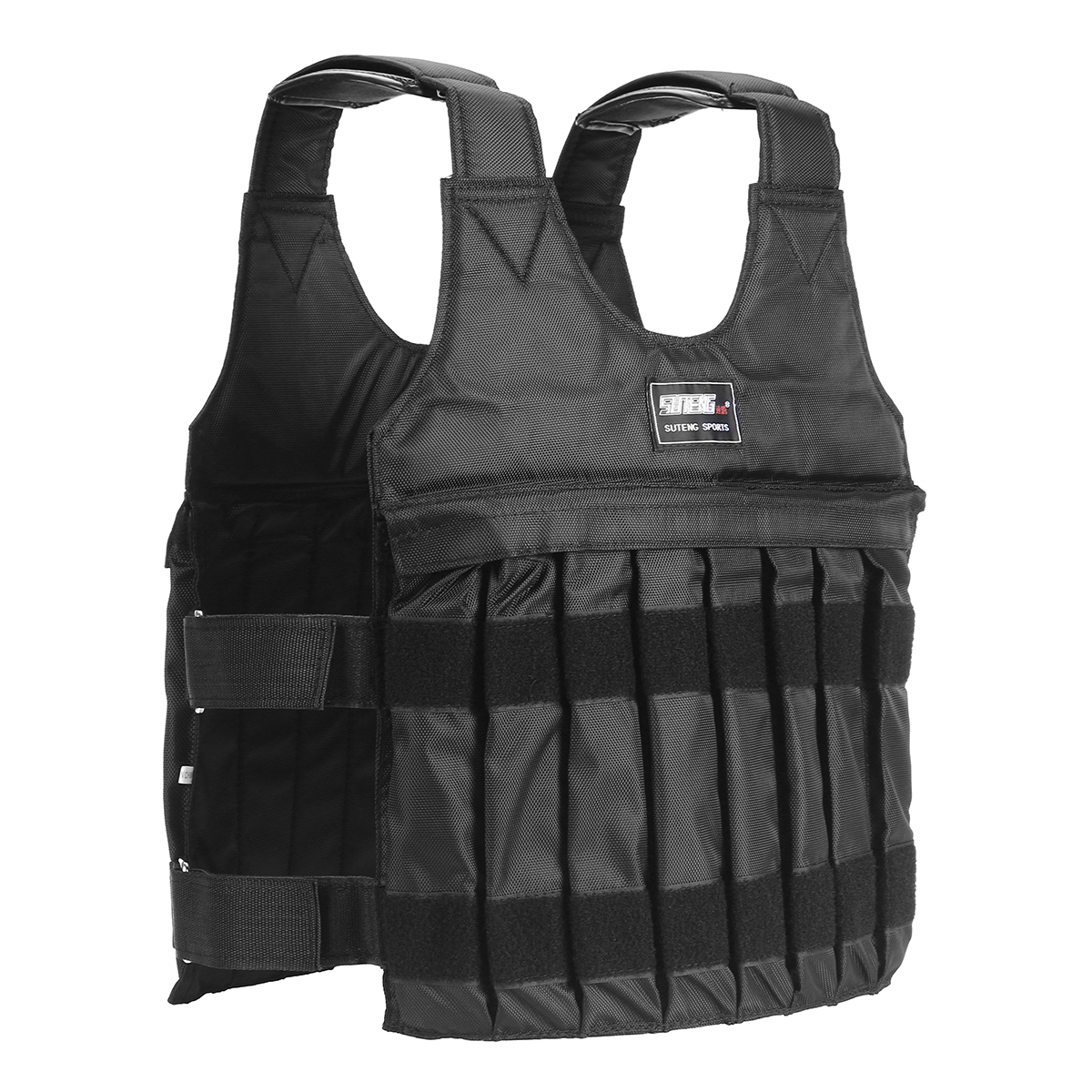 110 44lbs//110lbs Exercise Training Fitness Workout Boxing Weighted Vest Jacket Men Women Dwawoo Adjustable Weighted Vest