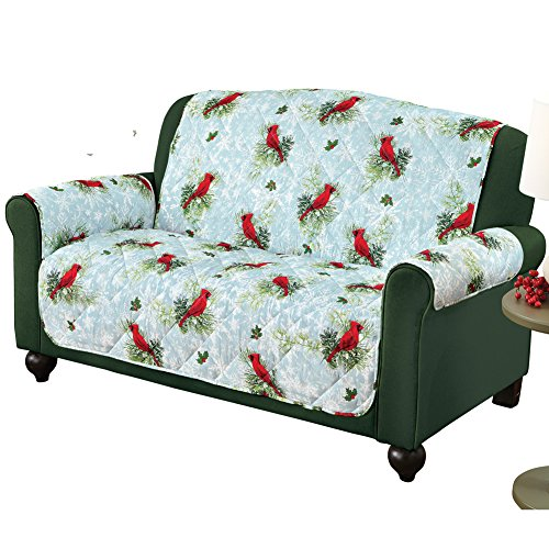 Collections Etc Festive Cardinal Furniture Cover