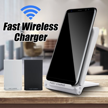 For S7 S8 iphone 5/6/7/8/X Q600 3-Coils Wireless Fast Charger Charge