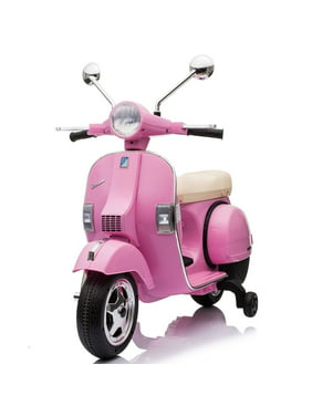 Best Ride On Cars Vespa Scooter-Color:Pink