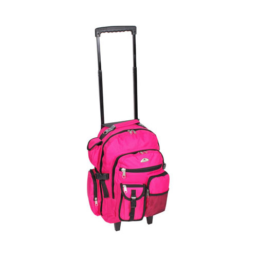 """Everest Deluxe Wheeled Backpack  18.5""""x 13.5""""x 7"""""""