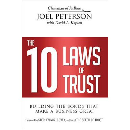 The 10 Laws of Trust - eBook (10 Best Law Schools)