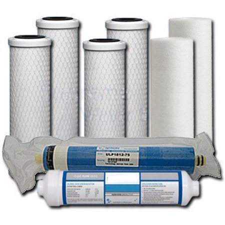 - Universal 5-Stage Under Sink Reverse Osmosis Annual Replacement Filter Kit by Complete Filtration Services