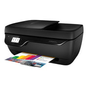 HP Officejet 3833 All-in-One - Multifunction printer - color - ink-jet - 8.5 in x 11.7 in (original) - A4 (media) - up to 7 ppm (copying) - up to 20 ppm (printing) - 60 sheets - USB 2.0, Wi-Fi(n)