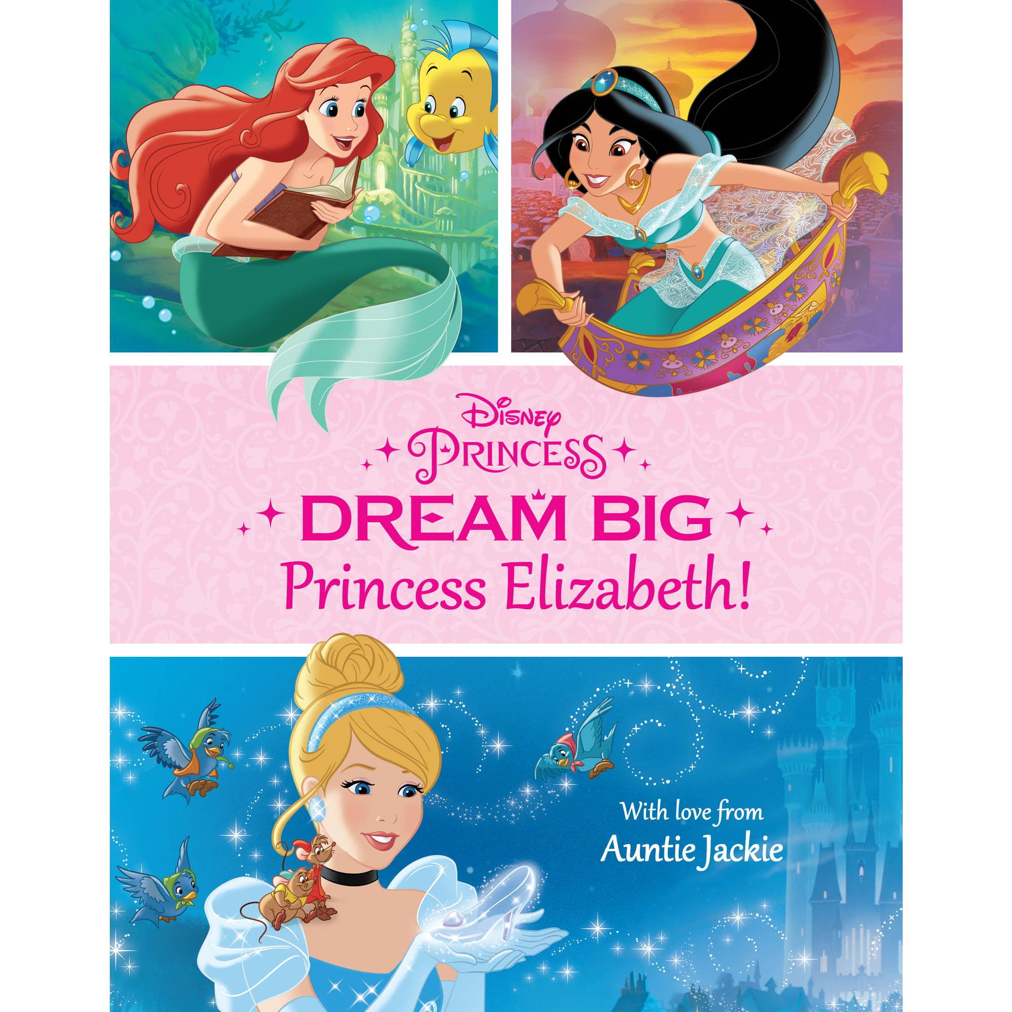 Disney Dream Big Princess Personalized Hardcover Book